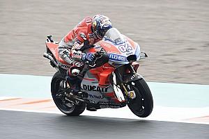 MotoGP: nel diluvio di Valencia emerge Dovizioso e la KTM firma il suo primo podio!