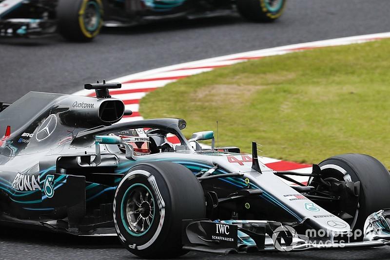 Пилоты Mercedes стали быстрейшими в первой тренировке Гран При Японии
