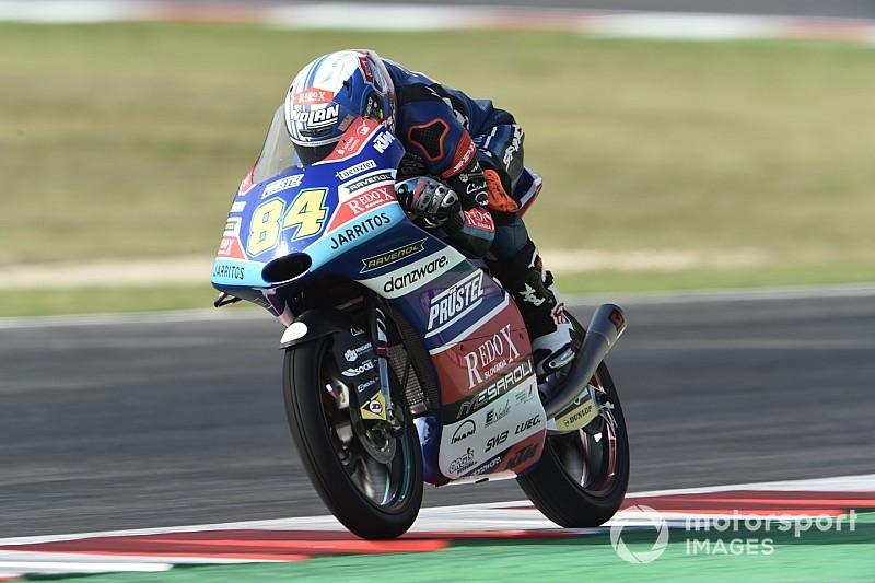 FP1 Moto3 Aragon: Alami kecelakaan, Kornfeil tetap terdepan