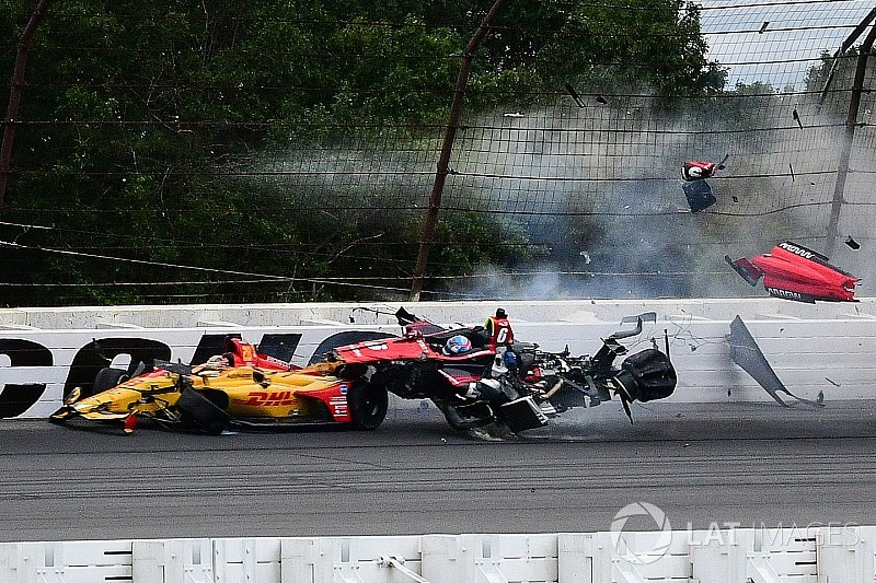 Wickens suffers multiple fractures due to accident in Pocono