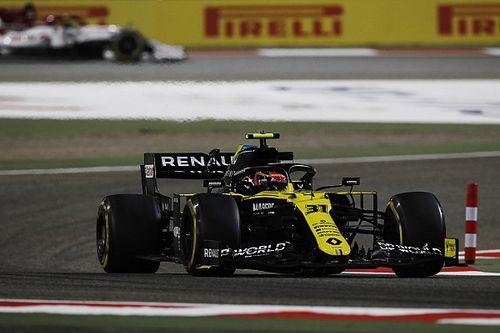 Un souffle entre Ocon et Ricciardo, Renault en position de force
