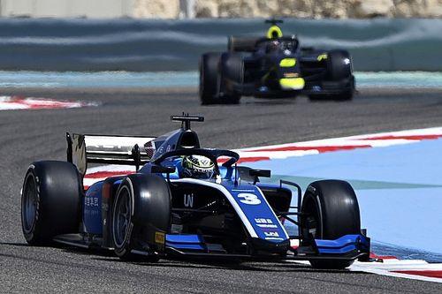 Zhou se lleva la primera pole de la FIA F2, a pesar de un error