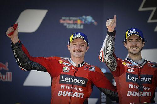 La joie tout en nuance de Ducati après un doublé historique à Jerez