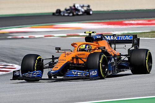 Norris jól kezdett pénteken, de a délutáni miatt törheti a fejét a McLaren