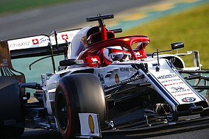 Un tear-off a précipité le premier arrêt de Räikkönen