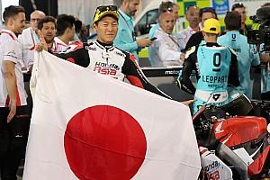 Toba se lleva la primera victoria del año en Moto3; Canet, tercero