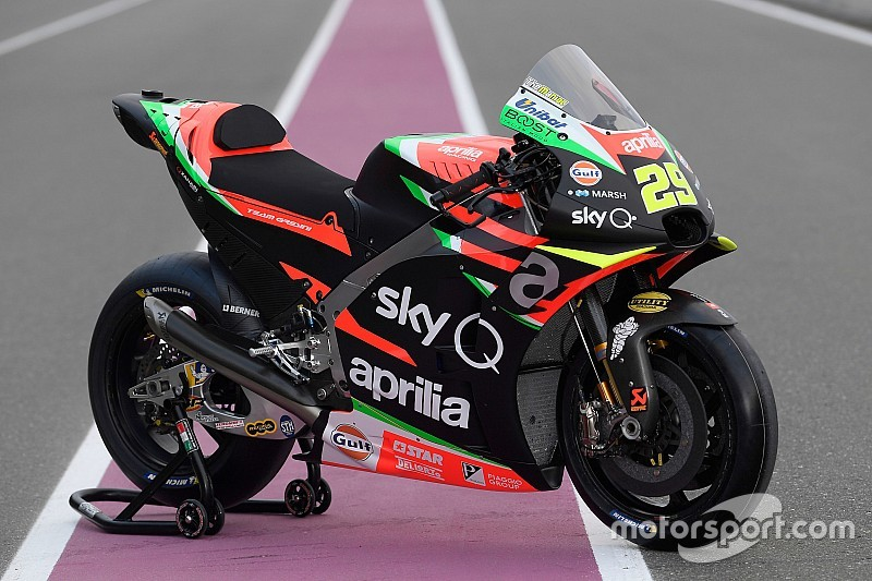 Gulf Oil announces new partnership with Aprilia MotoGP team
