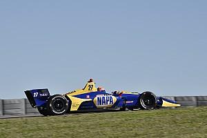 Rossi logra el mejor tiempo en el día final del Spring Training de IndyCar