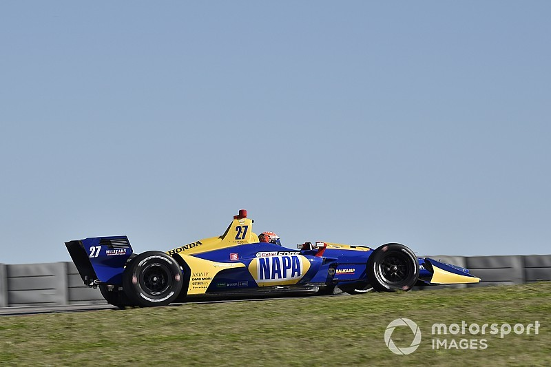 Rossi deposes Herta in IndyCar Spring Training final session