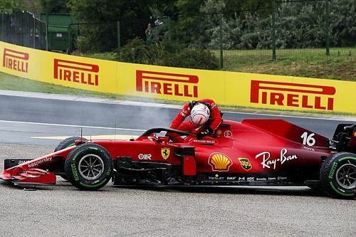 Ferrari doit remplacer le moteur de Leclerc