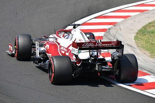 Williams gaat Alfa Romeo voorbij, geen reden tot zorg in Hinwil