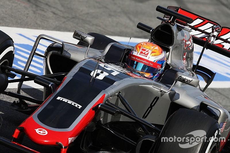 Haas didn't achieve goals despite laptime – Grosjean