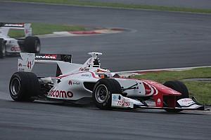 Super Formula Résumé de course Vandoorne abandonne depuis la pole à Fuji