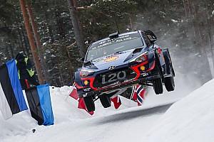 WRC Resumen de la etapa Neuville lidera un triplete de Hyundai tras el segundo día de Suecia