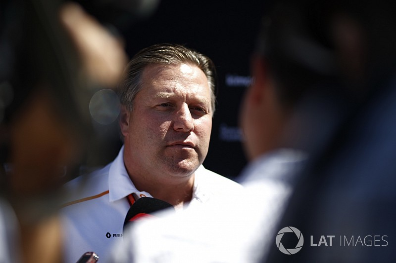 McLaren's decision-making process