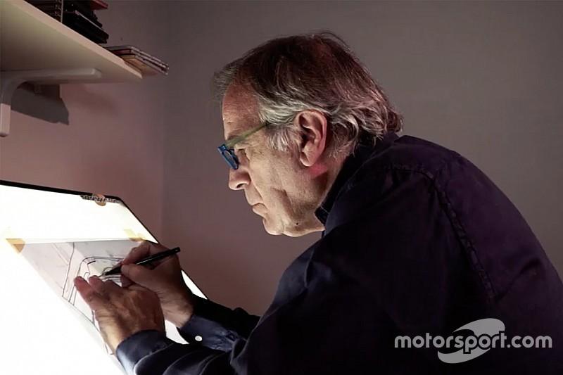 Giorgio Piola: Menggambar kecepatan mobil Formula 1