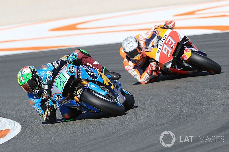 Essais Valence - Márquez en tête, Rossi détruit sa moto