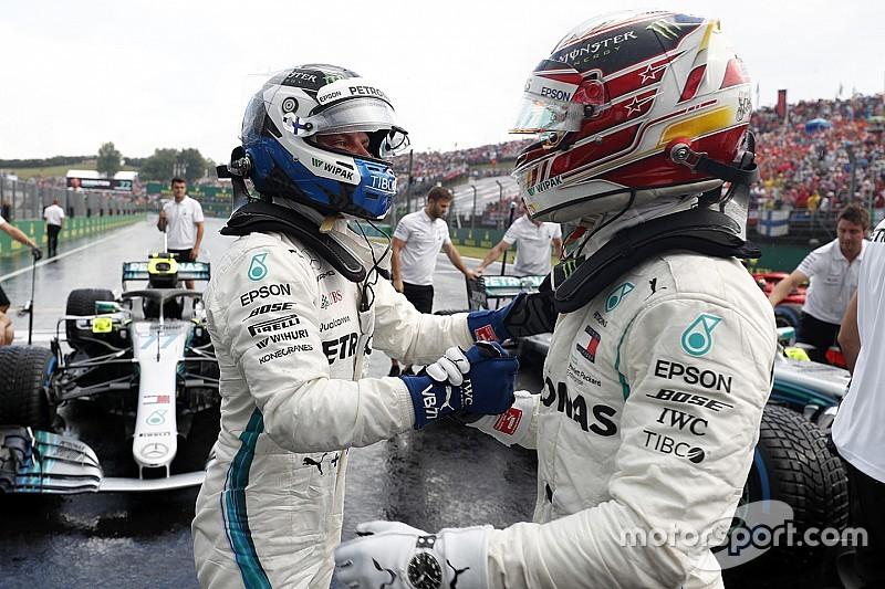 Starting grid F1 GP Hongaria 2018