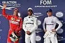 La grille de départ du Grand Prix des États-Unis