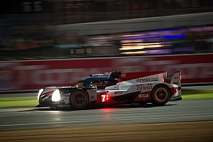 Le Mans Race report Le Mans 24h: Toyota still in charge as night falls
