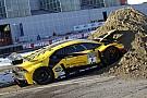 General Відео: на Болонському автосалоні розбили Lamborghini