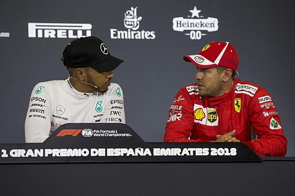 Fórmula 1 Noticias Hamilton y Vettel critican que la F1 será más lenta en 2019