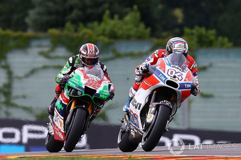 """Dovizioso: """"En las últimas carreras han emergido los límites de los demás"""""""
