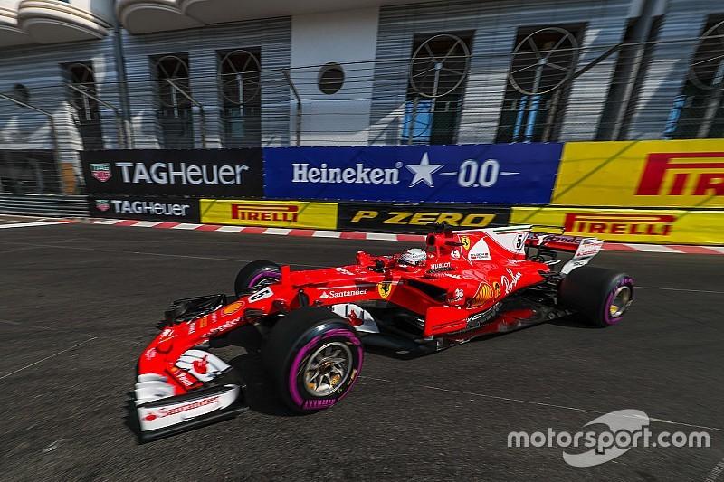 """Vettel : """"Bizarre"""" de voir Mercedes si distancé en essais libres"""