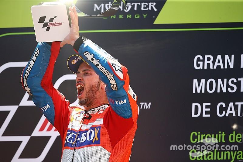 Dovizioso: Itu balapan yang sangat aneh