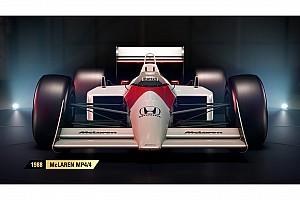 Sim racing Важливі новини У відеогрі F1 2017 з'являться класичні боліди