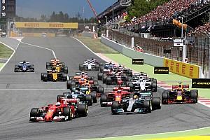 Los números de la primera mitad de la temporada 2017 de la F1