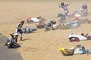 Moto3 Reporte de la carrera Moto3: Tercera victoria del año para Mir; Canet, segundo