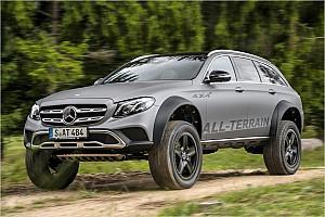 Automotive News Offroad-Mercedes: Wird diese bullige E-Klasse bald Realität?