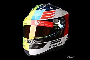 Formule 1 Diaporama Photos - Le casque de Mick Schumacher à Spa