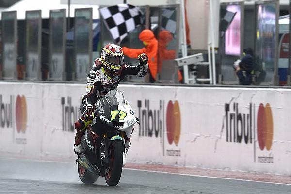 Moto2 Reporte de la carrera Aegerter gana y Luthi da un golpe deefecto al campeonato