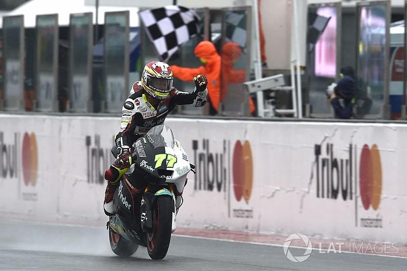 Moto2 San Marino: Aegerter menang, Morbidelli tak finis