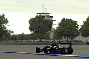 Videogames Special feature Live sim racing: SRVN trapt af met F2000 op Indianapolis