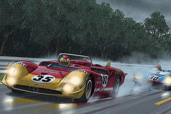 Le Mans Steve McQueen in Le Mans