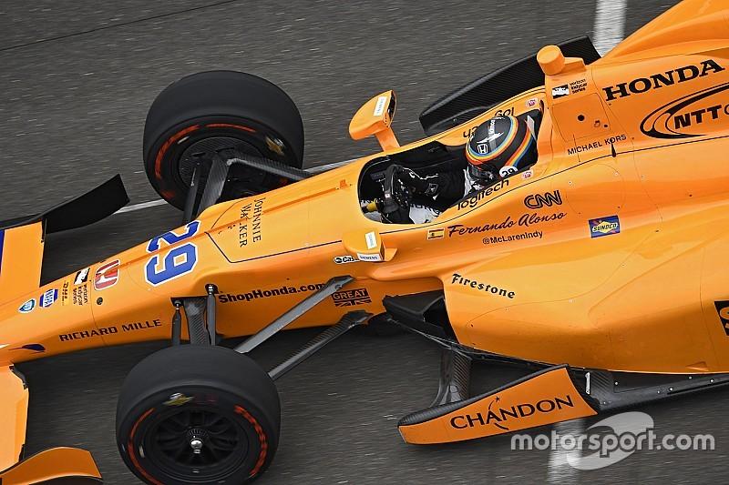 Mehr als 2 Millionen Zuschauer bei Fernando Alonsos IndyCar-Test