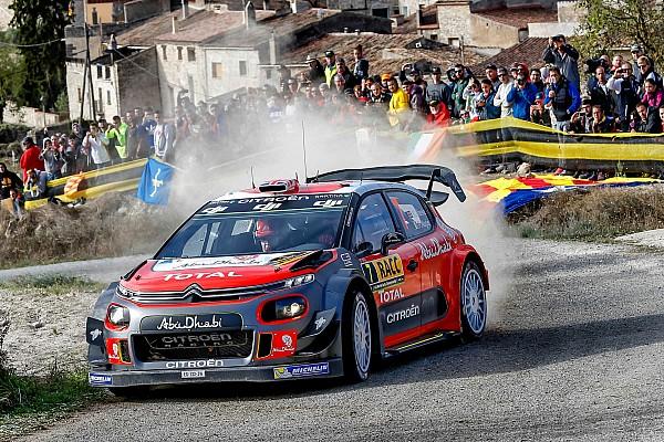 WRC Spanyol: Meeke dan Citroen menang di Catalunya