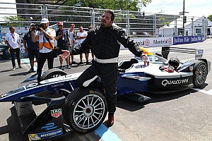 Formula E Noticias de última hora Patrick Carpentier dio la primera vuelta al circuito de Montreal de la Fórmula E