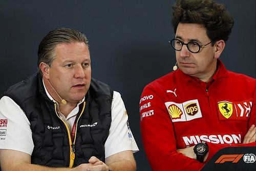 """Brown provoca: """"F1 senza Ferrari? Peccato, ma si va avanti"""""""