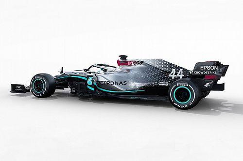 Formel 1 2020: Der neue Mercedes W11 von Lewis Hamilton in Bildern