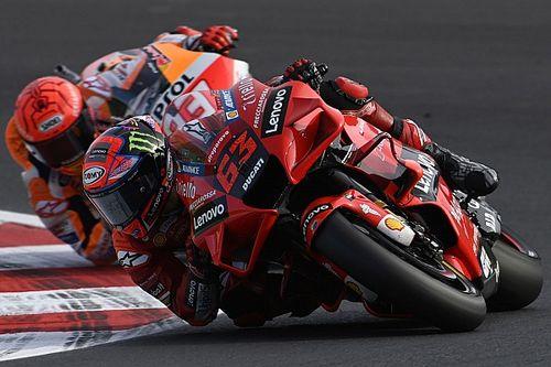 Bagnaia: no me tocaba ganar este año el título de MotoGP