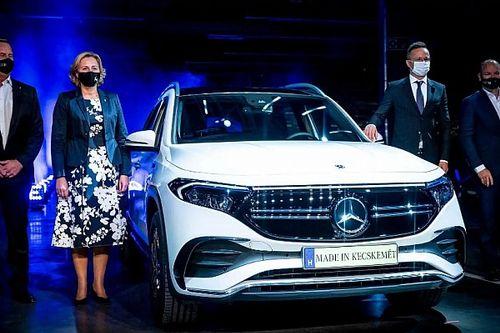 Megkezdődött Kecskeméten a Mercedes-Benz EQB gyártása