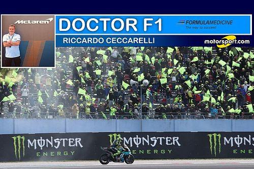 """Doctor F1: """"Vale ha chiuso con Misano, non dovrebbe correre"""""""