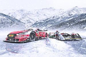 Audi: DTM- und Formel-E-Auto mit Spike-Reifen bei Eisrennen