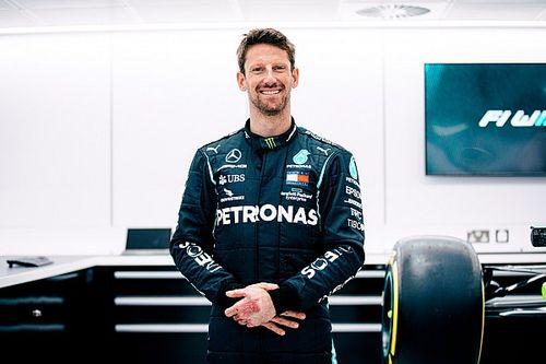Grosjean to test Mercedes F1 title-winner at Paul Ricard