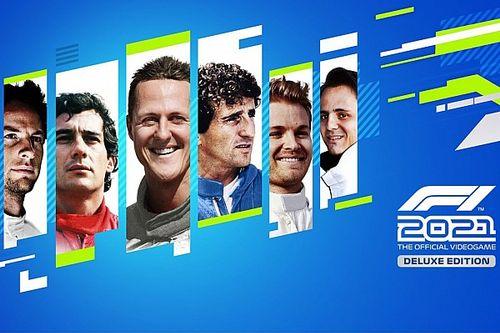 سينا وشوماخر من بين السائقين الأيقونيين في لعبة الفورمولا واحد 2021