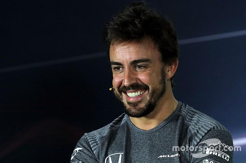 Alonso, tan emocionado como al principio de su carrera